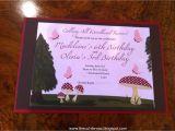 Woodland Fairy Party Invitations the Cul De Sac Woodland Fairy Birthday Party
