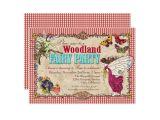 Woodland Fairy Party Invitations Woodland Fairy Party Invitation Zazzle