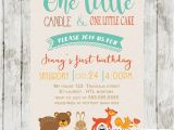 Woodland themed Birthday Invitations Woodland themed Birthday Invitation forest Animals