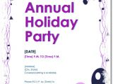 Word Party Invitation Template Free Holiday Party Invitations 9 Templates In Pdf Word