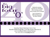 Wording for 40th Birthday Party Invitation 10 Birthday Invite Wording Decision Free Wording