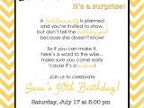 Wording for A Surprise Party Invitation Wording for Surprise Birthday Party Invitations Drevio