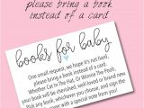 Wording for Baby Shower Invite Book Instead Of Card Book Baby Shower Invitations & Wording Ideas