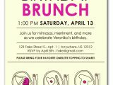 Wording for Birthday Brunch Invitations Best Free Party Luncheon Brunch Invitation Card for