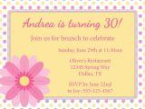 Wording for Birthday Brunch Invitations Spring Brunch Birthday Brunch Invitation Diy by
