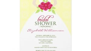 Wording for Bridal Shower Invites Sample Bridal Shower Invitations Wording