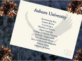 Wording for College Graduation Invitations Items Similar to Auburn University Graduation Announcement