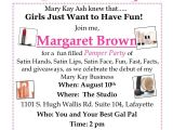Wording for Mary Kay Party Invitations Invitation Wording for Mary Kay Party Invitation