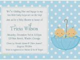 Wording for Twin Baby Shower Invitations Baby Shower Invitation Beautiful Teddy Bear Baby Shower