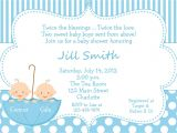 Wording for Twin Baby Shower Invitations Template Twin Baby Shower Invitations Uk Twins Baby