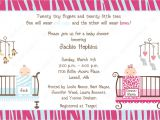 Wording for Twin Baby Shower Invitations Tips for Choosing Twin Baby Shower Invitation