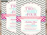 Wording for Twin Baby Shower Invitations Twins Baby Shower Invitation Wording