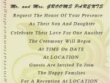 Wording for Wedding Invitations Bride and Groom Hosting Wedding Invitation Sample Wording Bride and Groom Inviting