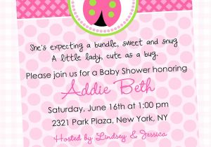 Words for A Baby Shower Invitation Wording for Baby Girl Shower Invitations theruntime Com