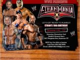 Wrestling Party Invitations 52 Best Images About Wwe Bday Party On Pinterest