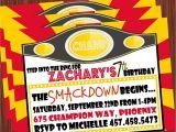 Wrestling Party Invitations Professional Wrestling Invitation Printable by Mimisdollhouse
