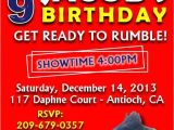 Wrestling Party Invitations Wwe Birthday Party Invitations Best Party Ideas