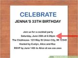 Writing An Invitation for A Birthday Party How to Write A Birthday Invitation 14 Steps with Pictures