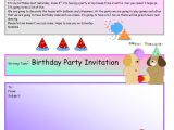 Writing Party Invitations Creative Writing Birthday Party Invite 16 A1 Level