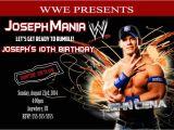 Wwe Birthday Invites Wwe John Cena Birthday Invitations 8 99 Boy 39 S Birthday