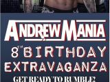Wwe Birthday Party Invites Wrestling Birthday Parties Printed and Birthdays On Pinterest