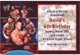 Wwe Birthday Party Invites Wwe Custom Invitation My Prince Evan Pinterest