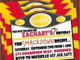Wwe Wrestling Birthday Party Invitations 5 Best Images Of Free Printable Wwe Birthday Invitations