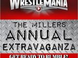 Wwe Wrestling Party Invitations Wrestlemania Party Invitation Tickets by