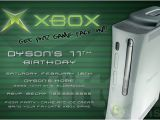 Xbox Party Invitations Items Similar to Xbox Video Game Birthday Party Invitation