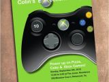 Xbox Party Invitations Xbox Birthday Party Invite Digital File 5 X 7 Inches