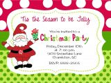 Xmas Party Invitation Template Christmas Party Invitation