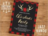 Xmas Party Invitation Template Christmas Party Invitation Template Diy Printable Holiday