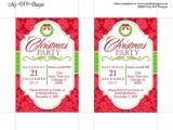 Xmas Party Invite Templates Christmas Invitation Template