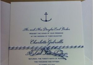 Yacht Wedding Invitation Wording Selecting the Perfect Wedding Invitations Maureen H