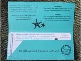 Yacht Wedding Invitation Wording Turquoise Teal Anchor Starfish Waves Yacht Boarding