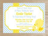 Yellow Duck Baby Shower Invitations Yellow Duck Baby Shower Invitation Baby by Cakesandkidsdesigns