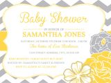 Yellow Gray Baby Shower Invitations Yellow and Gray Baby Shower Invitations – Gangcraft