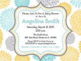 Yellow Gray Baby Shower Invitations Yellow and Gray Baby Shower Invitations