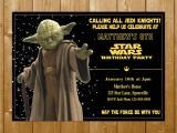 Yoda Birthday Invitations Star Wars Birthday – Page 2 – Funpartysupply