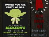 Yoda Birthday Invitations Yoda Birthday Invitation by Alabamabelledesigns On Etsy
