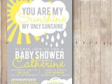 You are My Sunshine Baby Shower Invites Printable 5×7 You are My Sunshine Baby Shower Invitation