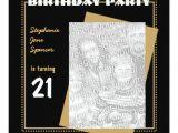 Zazzle 21st Birthday Invitations 21st Birthday Party Invitation