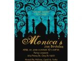 Zazzle 21st Birthday Invitations Arabian Nights 21st Birthday Invitations