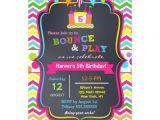 Zazzle Birthday Party Invitations Bounce House Birthday Party Invitations Girl