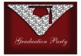 Zazzle Graduation Invitations Graduation Cap Party Invitation Zazzle