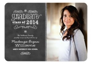 Zazzle Graduation Invitations Photo Graduation Invitations Black Chalkboard Zazzle
