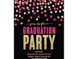 Zazzle Graduation Party Invitations Shimmer Shine Graduation Party Invitation Zazzle
