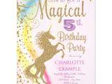 Zazzle Unicorn Birthday Invitations Unicorn Rainbow Magical Birthday Party Invitations
