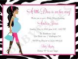 Zebra Baby Shower Invites Diva Baby Shower Invitation Zebra Print totally Fabulous Diy
