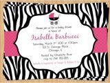 Zebra Baby Shower Invites Printable Zebra Baby Shower Invitation Birthday Invitation